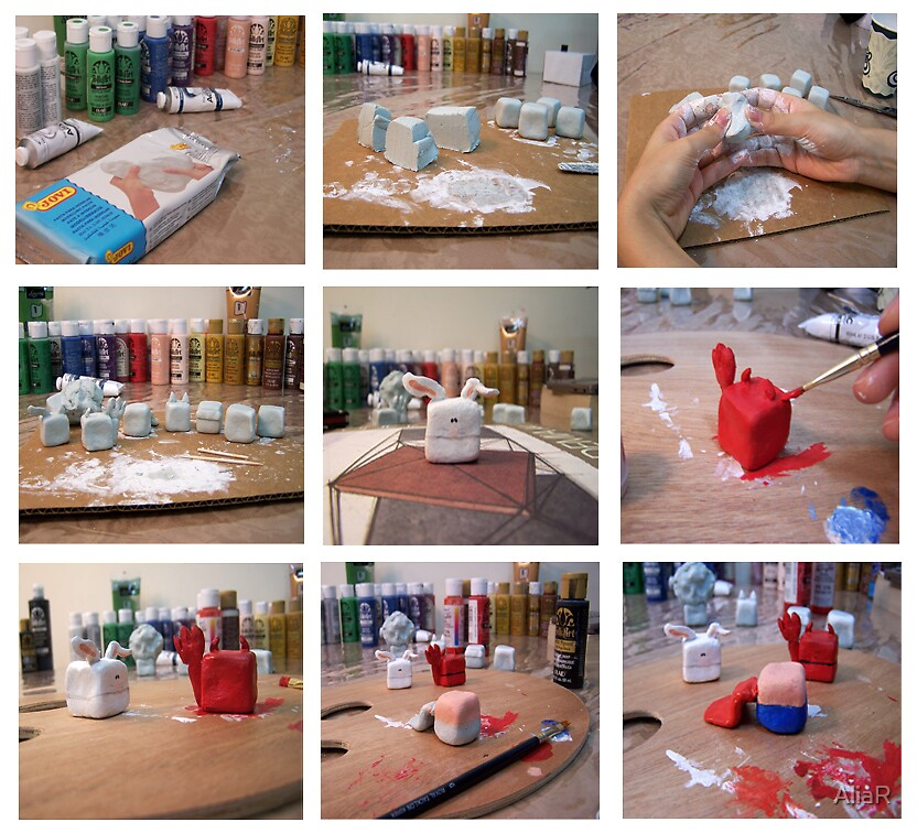 Working Process of My Cubes by AliaR