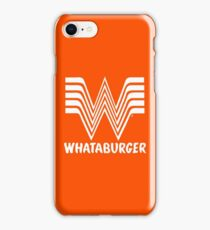 Whataburger iPhone Case/Skin