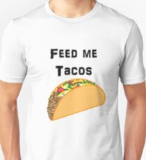 Iskybibblle Products / Feed me Tacos/ Black T-Shirt