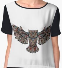 Owl Women's Chiffon Top