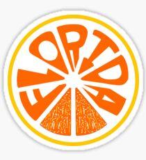 Florida Orange Sticker