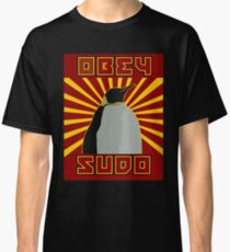 Obey Sudo - Linux  Classic T-Shirt
