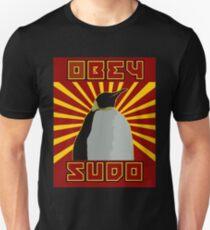 Obey Sudo - Linux  T-Shirt