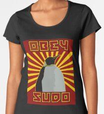Obey Sudo - Linux  Women's Premium T-Shirt