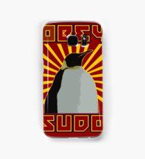 Obey Sudo - Linux  Samsung Galaxy Case/Skin