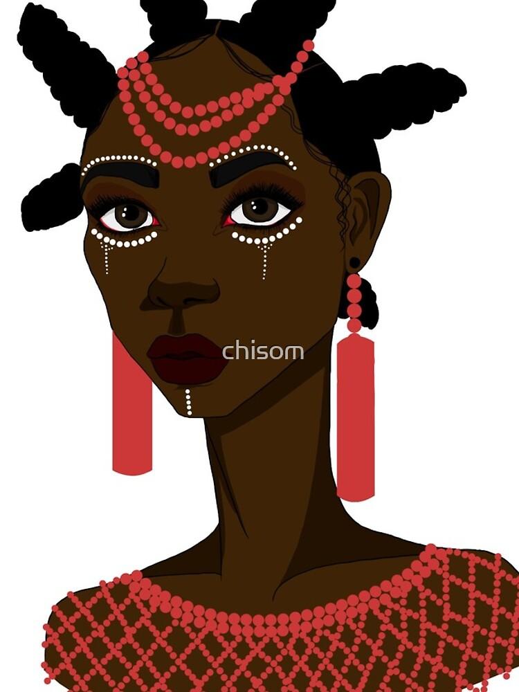 African Igbo woman by Sovemba