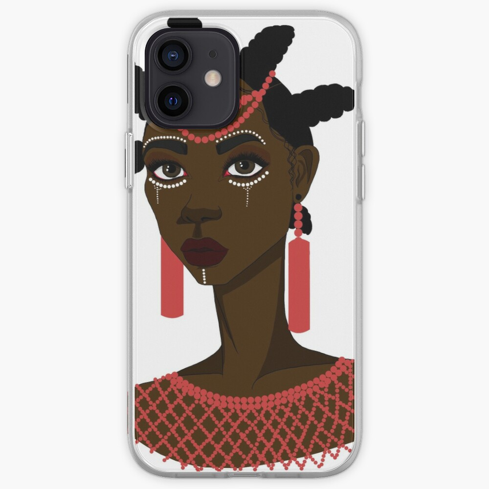 African Igbo woman iPhone Case & Cover