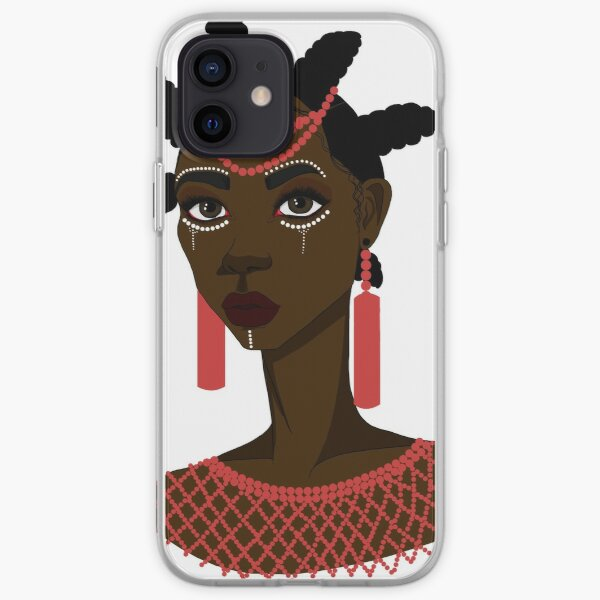 African Igbo woman iPhone Soft Case