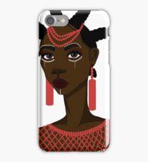 African Igbo woman iPhone Case/Skin