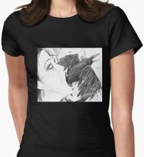 Nevermore by Empty Jasper Women's Fitted T-Shirt