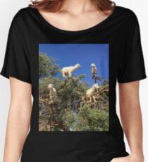 Goats in an argan tree Women's Relaxed Fit T-Shirt