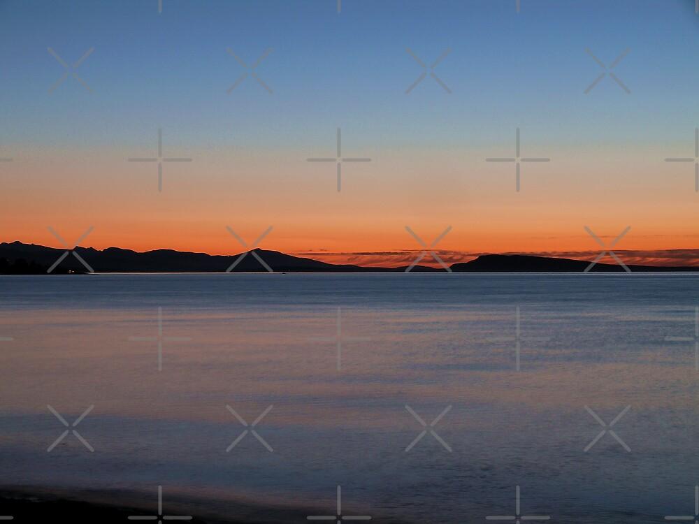 Parksville Sunset by Gail Bridger