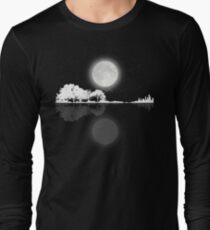 Nature Guitar Night Long Sleeve T-Shirt