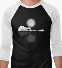Nature Guitar Night Men's Baseball ¾ T-Shirt