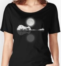 Nature Guitar Night Women's Relaxed Fit T-Shirt