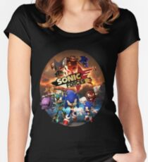 Sonic Forces Women's Fitted Scoop T-Shirt