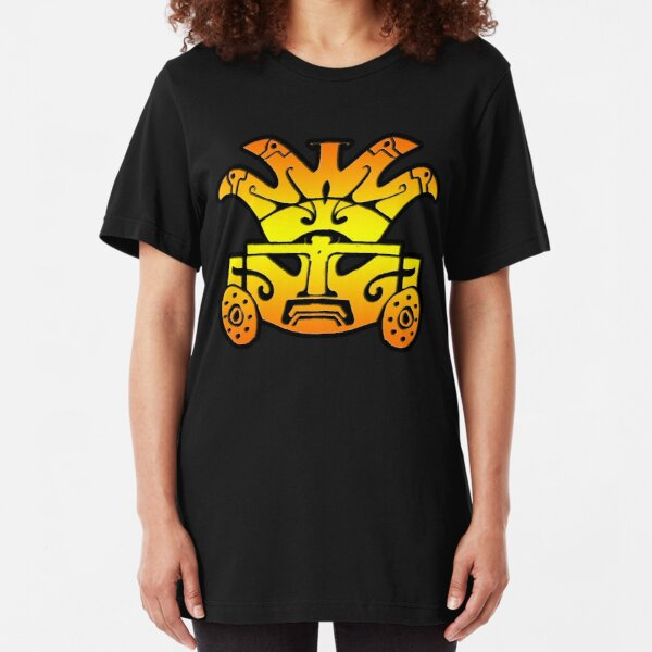 Aztec Warrior Slim Fit T-Shirt
