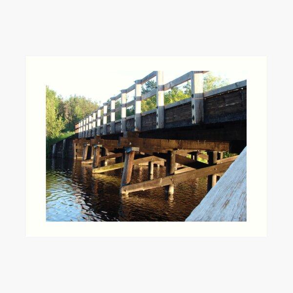 Smith Bridge Art Print