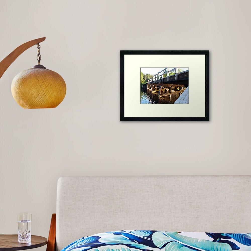 Smith Bridge Framed Art Print