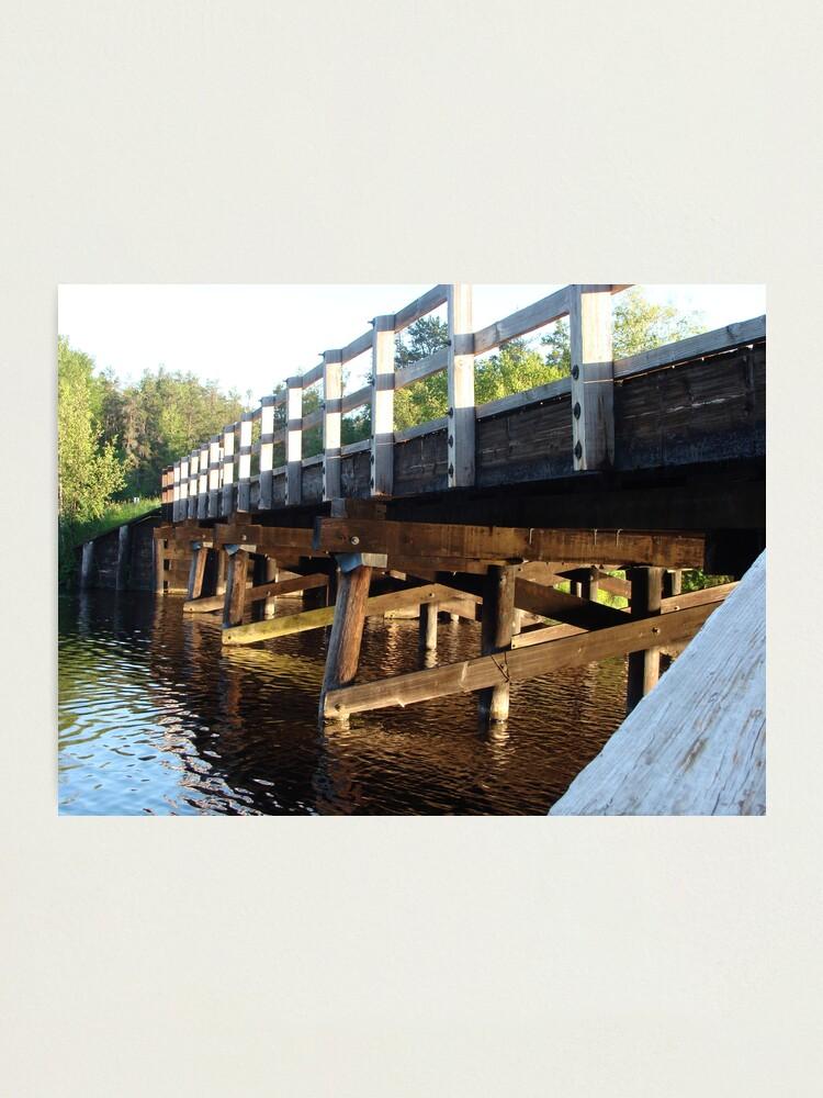 Alternate view of Smith Bridge Photographic Print