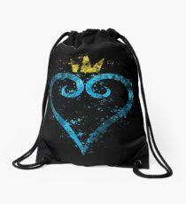 Kingdom Hearts Splatter Drawstring Bag