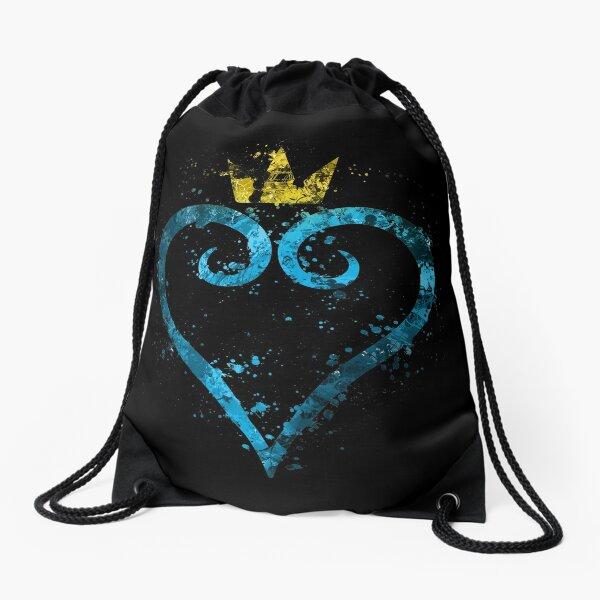 Kingdom Hearts Splatter Turnbeutel