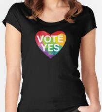 Australia, Vote Yes! Women's Fitted Scoop T-Shirt
