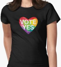 Australia, Vote Yes! Women's Fitted T-Shirt