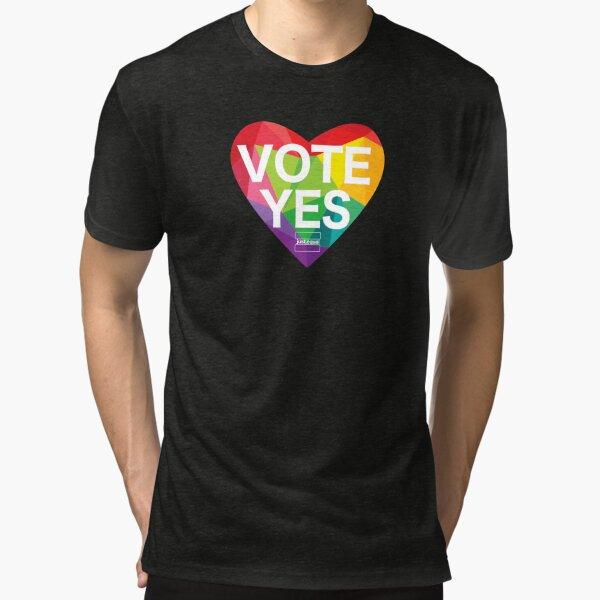 Australia, Vote Yes! Tri-blend T-Shirt