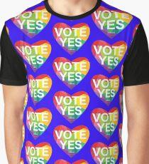 Australia, Vote Yes! Graphic T-Shirt