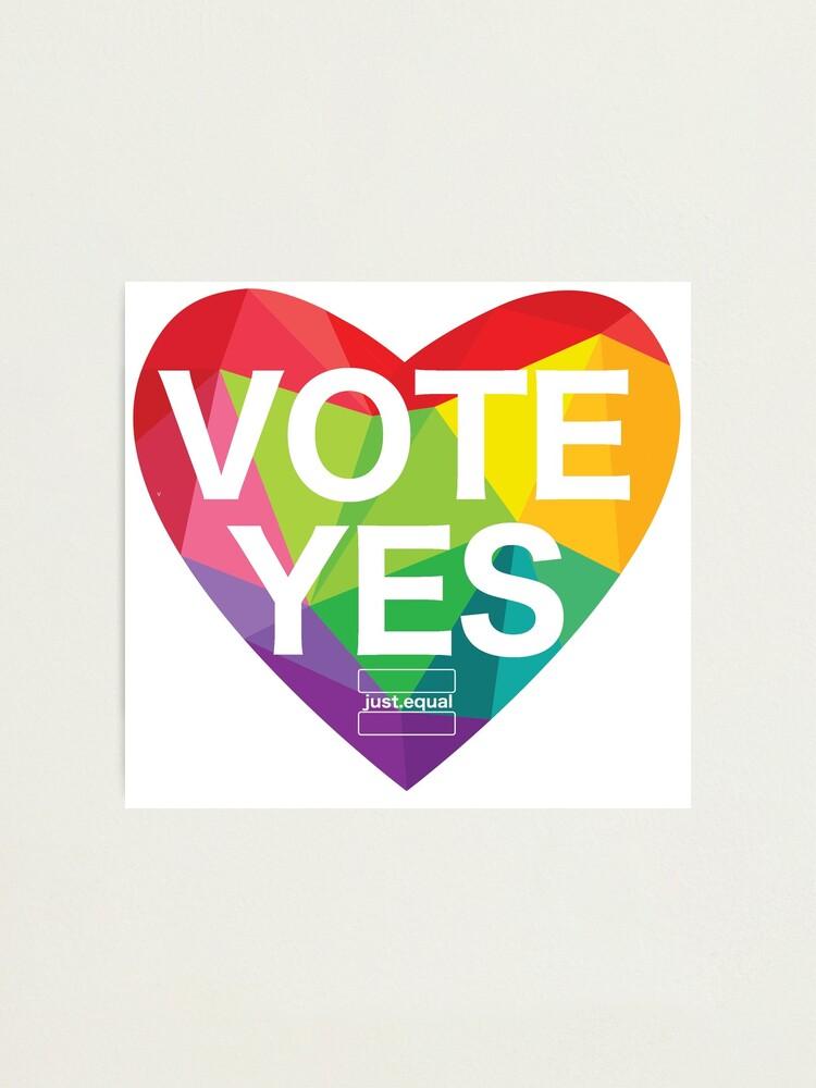 Alternate view of Australia, Vote Yes! Photographic Print