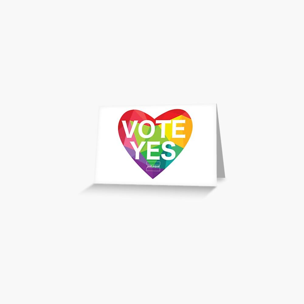 Australia, Vote Yes! Greeting Card