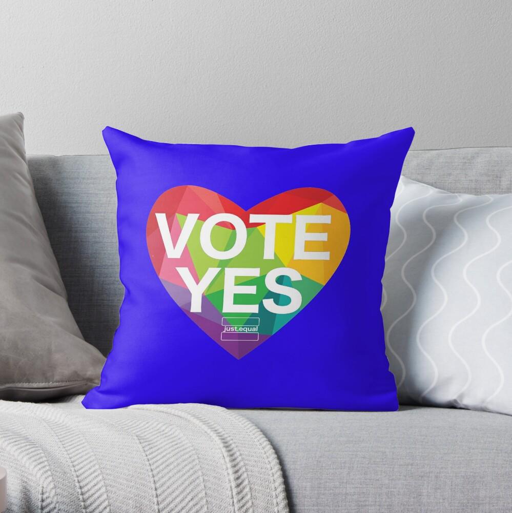Australia, Vote Yes! Throw Pillow