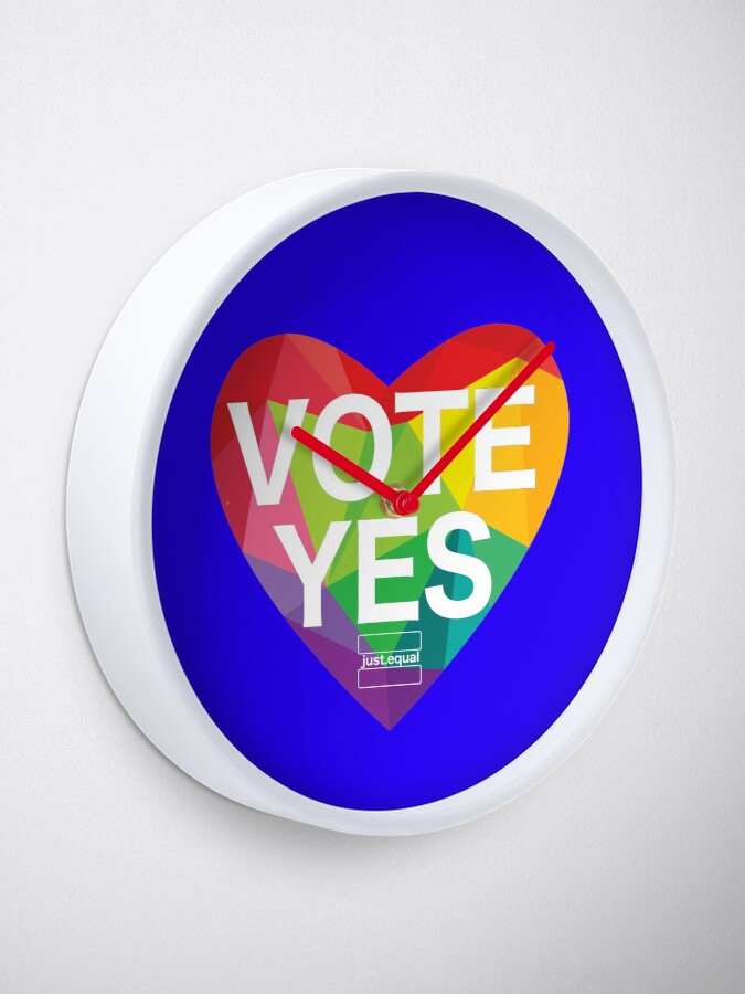 Alternate view of Australia, Vote Yes! Clock