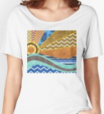 Ocean of Patterns Women's Relaxed Fit T-Shirt