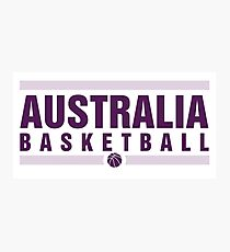 Australia Basketball Photographic Print