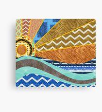 Ocean of Patterns Canvas Print