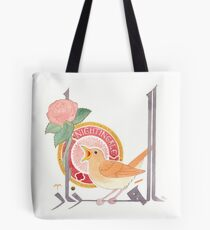 The Conference of the Birds: The Nightingale Tote Bag