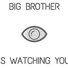 Big Brother Is Watching You - 1984 by Aphina
