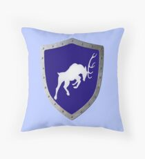 The Charging Buck Throw Pillow