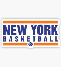 New York Basketball Sticker