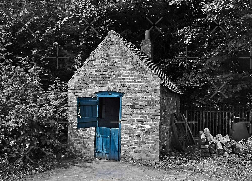 Blue Door by Yampimon