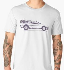 Delorean Men's Premium T-Shirt