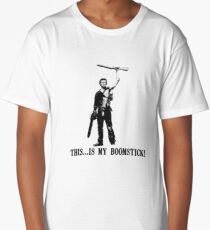 This...is my Boomstick! (Ash - Army of Darkness) Long T-Shirt