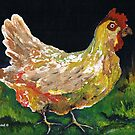 Not a spring chicken anymore by Elizabeth Kendall