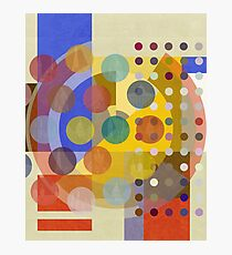 Bauhaus London (Hot Spots FOUR) Photographic Print