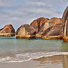 Elephant Rocks. Elephant Cove. WA. by John Sharp