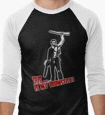 Ash - Evil Dead/Army of Darkness - Boomstick (Updated) Men's Baseball ¾ T-Shirt