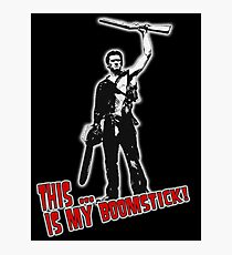 Ash - Evil Dead/Army of Darkness - Boomstick (Updated) Photographic Print