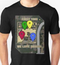 Pubg players loves SCHOOL ! (new map version) T-Shirt
